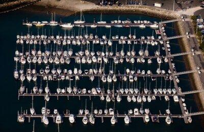 Puerto voilier deporte voile barco la rochelle