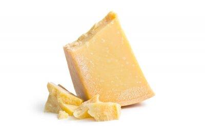 Póster queso parmesano