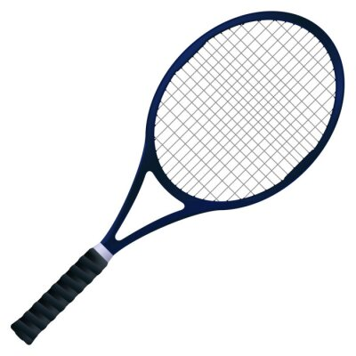 Póster Raqueta de tenis