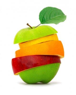 Póster Rebanadas de la fruta