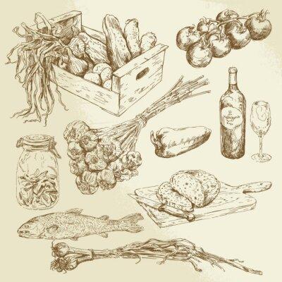 Póster recogida de alimentos
