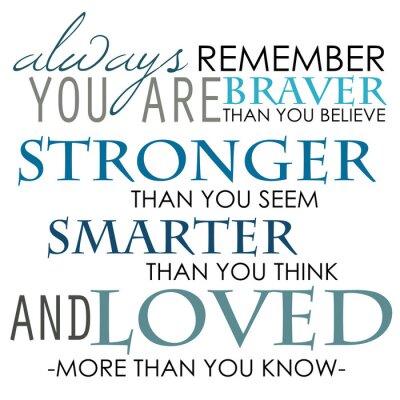 Póster Recuerde siempre