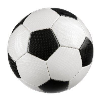 Póster Reinem auf Weiß Fußball
