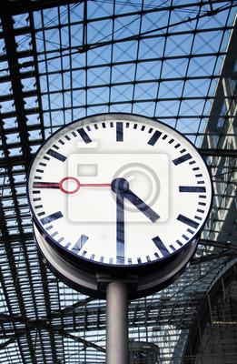 Reloj en la estación de tren