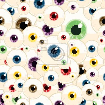 Repitiendo Eyeball ininterrumpidas de fondo