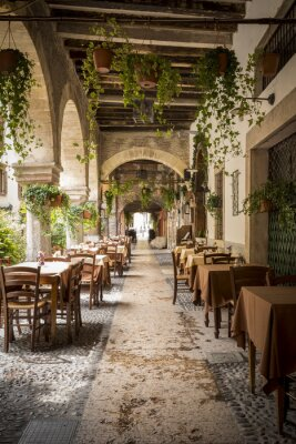 Póster Restaurante en Verona