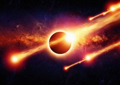 Póster Resumen apocalipsis espacio
