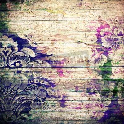 Póster Resumen de fondo con textura de edad grunge. Para la textura del arte, el diseño del grunge, y papel de la vendimia o marco frontera