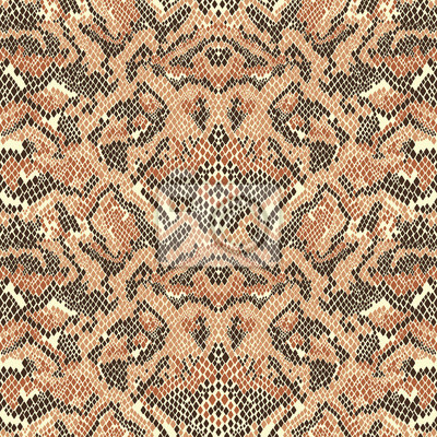 Resumen de piel de serpiente vector de patrones sin fisuras
