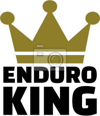 Rey de Enduro con corona