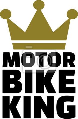 Rey de la moto con la corona
