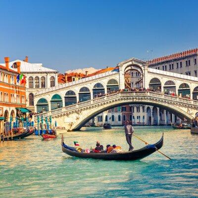 Póster Rialto Bridge in Venice