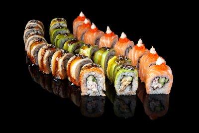 Póster Rodillo del sushi
