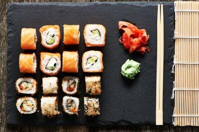 Póster Rollos de sushi