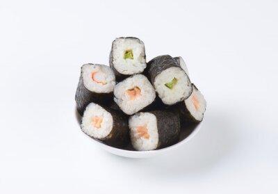 Póster Rollos de sushi clásicos