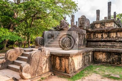 Ruinas en Polonnaruwa