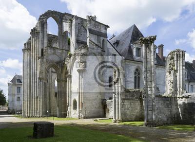 Ruines de l'abbaye de Saint-Wandrille, abbatiale Saint Pierre