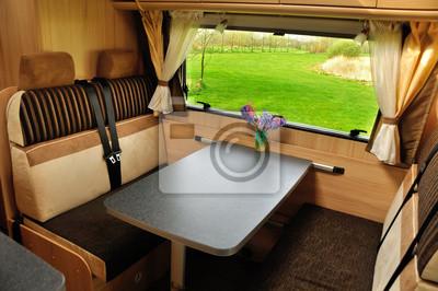 RV (camper, autocaravanas, caravanas) interior