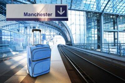 Póster Salida hacia Manchester, Reino Unido