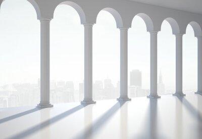 Póster salón clásico