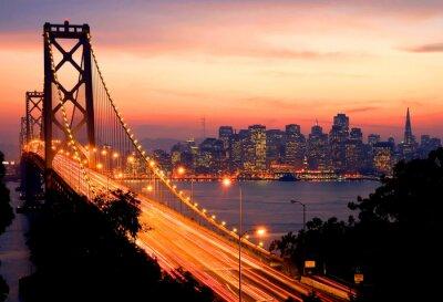 Póster San Francisco Sunset