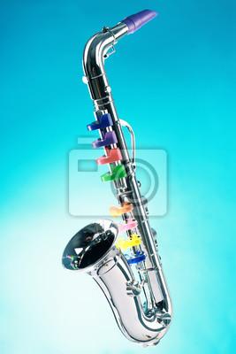 Saxofón aislado