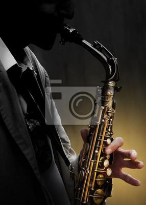 Saxofón en la sombra