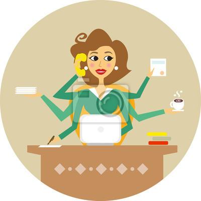 secretaria caricatura images