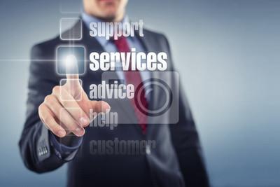 Póster servicios