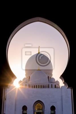 Sheikh Zayed Mezquita Starburst - Emiratos Árabes Unidos