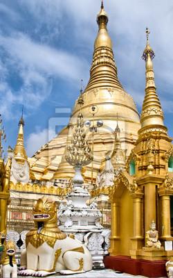 Shwedagon Paya, Yangon, Birmania