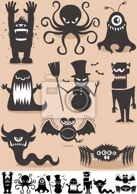 Silueta Monsters