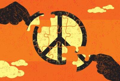 Póster Solución para la Paz