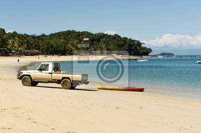 Spiaggia sulla Fuoristrada