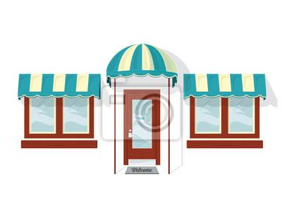 Store Front Door y Windows