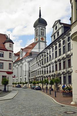 Studienkirche u.ehem.Universität, Dillingen