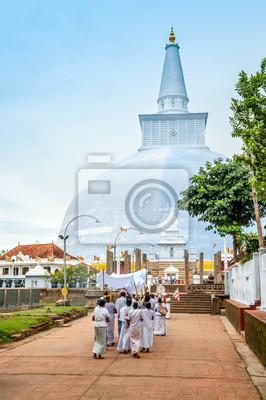 Stupa en Anuradhapura
