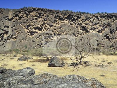 Sultanato de Omán, Dhofar, cerca de Salalah, wadi Darbat