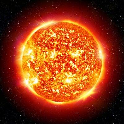 Póster Sun Planet