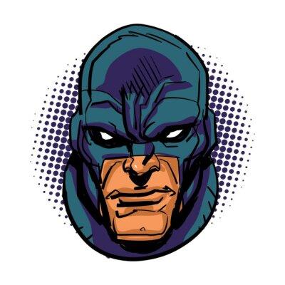 Póster Superhéroe enmascarado