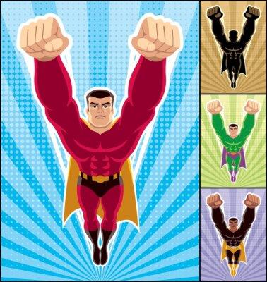Superhéroe que vuela