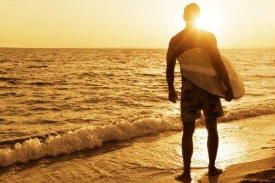 Póster Surf, Australia, Tabla de Surf.