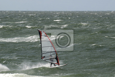 Surfer antes Westerland
