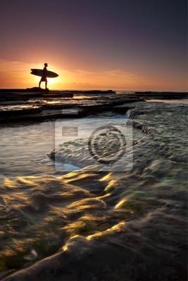 Surfista mañana