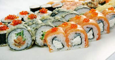 Póster Sushi Roll.