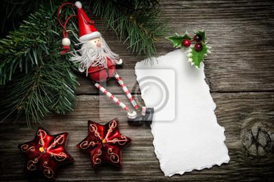 Tarjeta de felicitación de Navidad