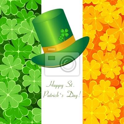 Tarjeta de felicitación St / Patrick