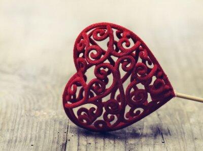 Póster Tarjeta de San Valentín