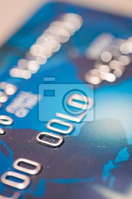 Tarjeta financiera de crédito de fondo