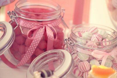 Póster Tarro con dulces